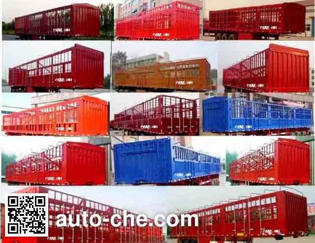Zhongji Huashuo XHS9400CCY stake trailer