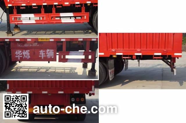 Zhongji Huashuo XHS9400CCYE stake trailer