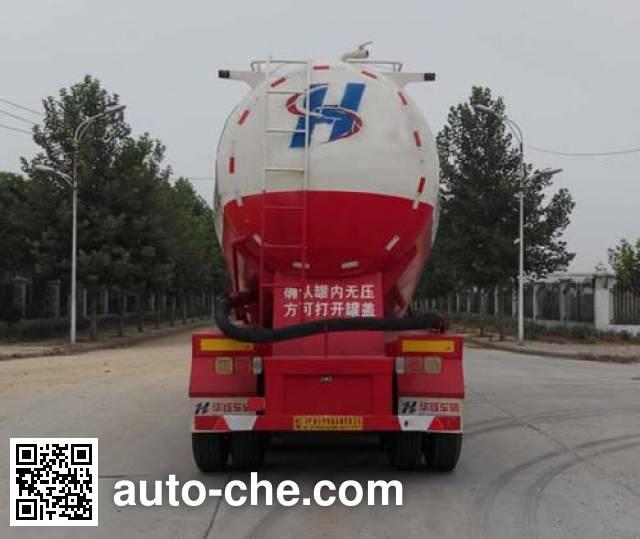 Zhongji Huashuo XHS9400GFL low-density bulk powder transport trailer