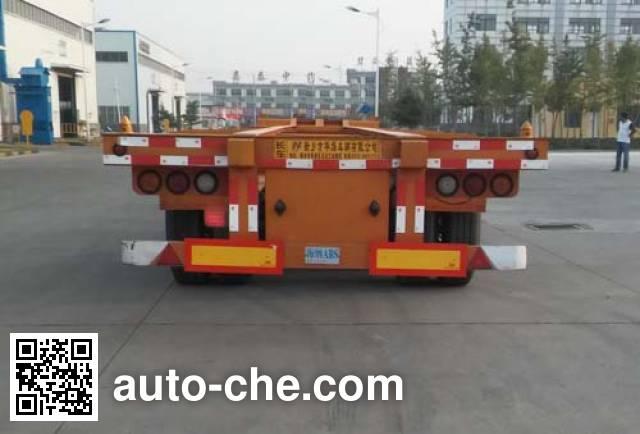 Zhongji Huashuo XHS9400TJZE container transport trailer