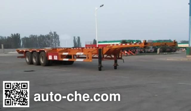 Zhongji Huashuo XHS9401TJZE container transport trailer