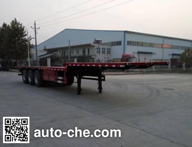 Zhongji Huashuo XHS9400TPBE flatbed trailer