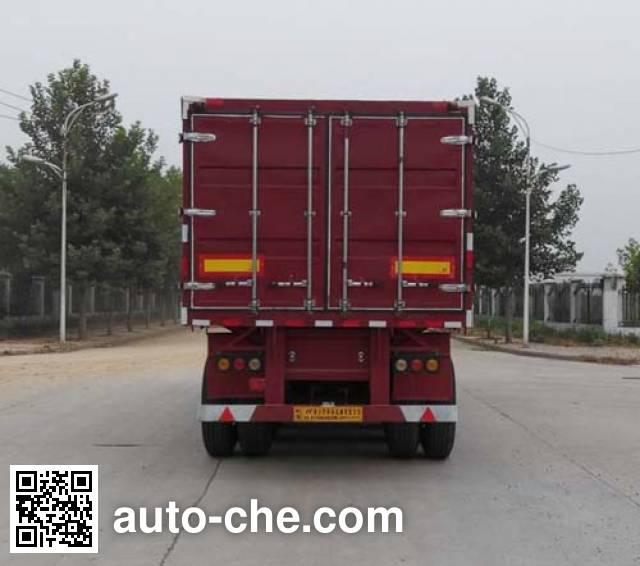 Zhongji Huashuo XHS9400XXY box body van trailer