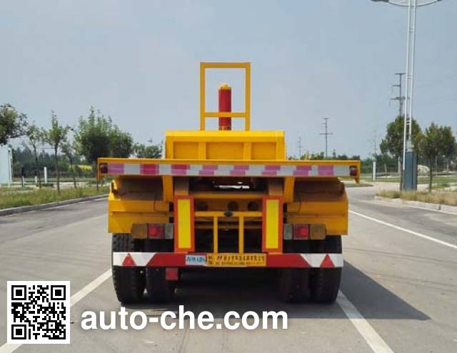 Zhongji Huashuo XHS9400ZZXP flatbed dump trailer
