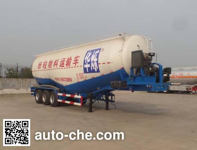 Zhongji Huashuo XHS9401GFL low-density bulk powder transport trailer