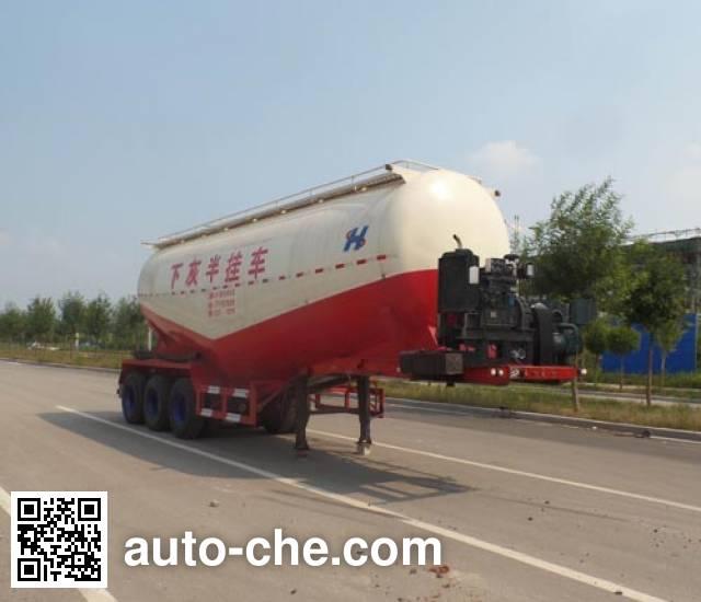Zhongji Huashuo XHS9400GXH ash transport trailer