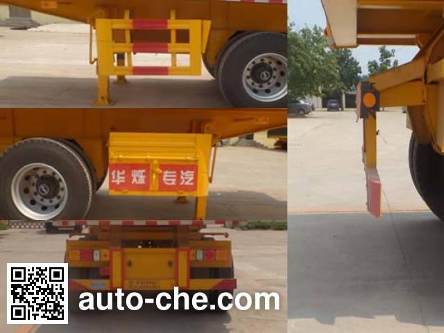Zhongji Huashuo XHS9401ZZXP flatbed dump trailer