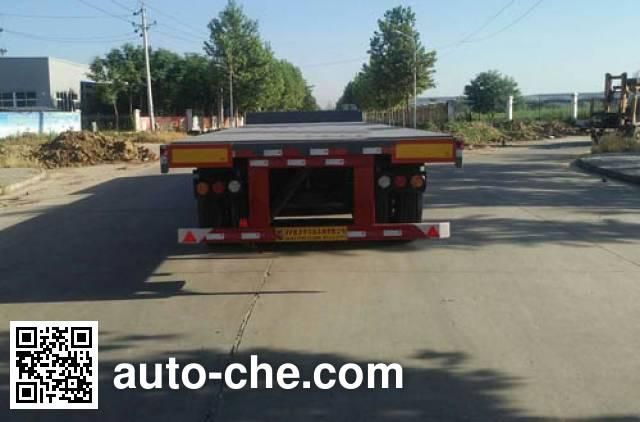 Zhongji Huashuo XHS9401ZZXPEC flatbed dump trailer