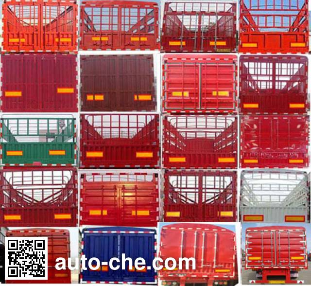 Zhongji Huashuo XHS9402CCYE stake trailer
