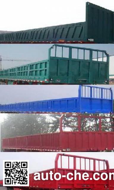 Zhongji Huashuo XHS9402ZZXP flatbed dump trailer
