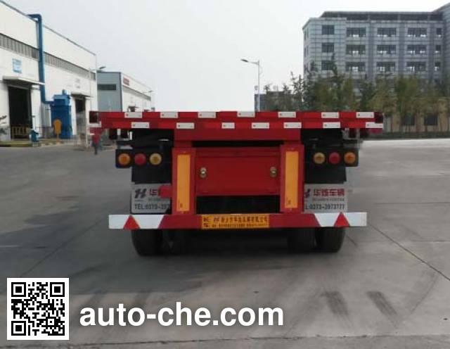 Zhongji Huashuo XHS9403ZZXP flatbed dump trailer