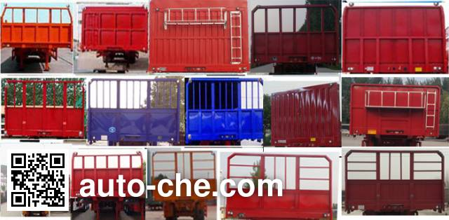 Zhongji Huashuo XHS9400ZZXPEC flatbed dump trailer