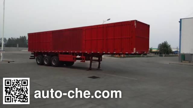 Zhongji Huashuo XHS9404XXY box body van trailer