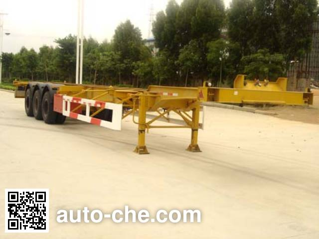 Xinhuaxu XHX9381TJZ container carrier vehicle