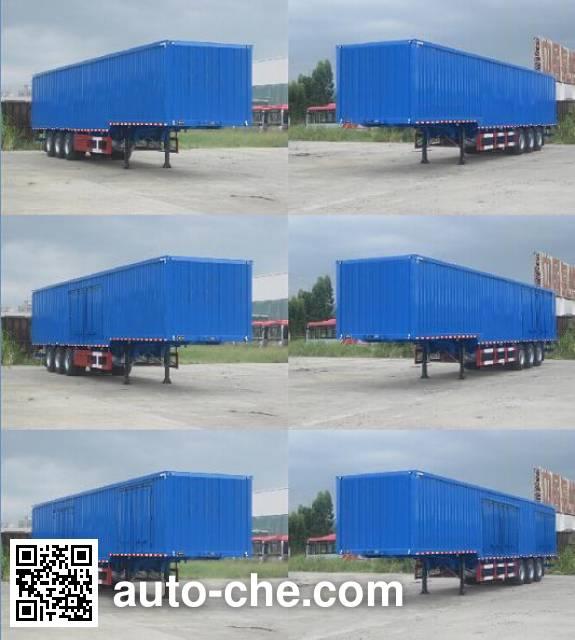 Xinhuaxu XHX9401XXY box body van trailer