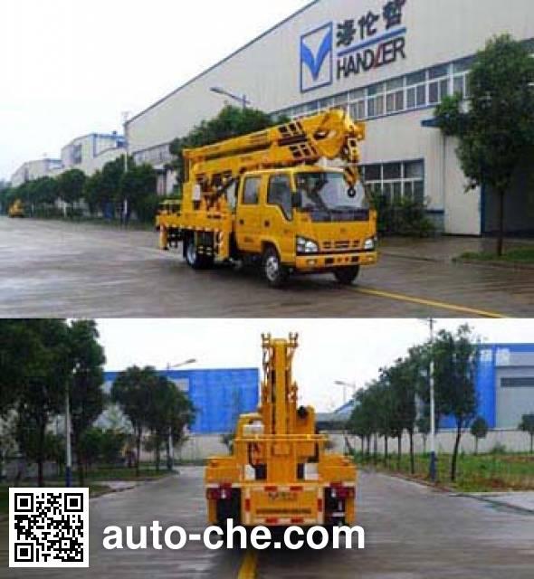 Hailunzhe XHZ5063JGKQ5 aerial work platform truck