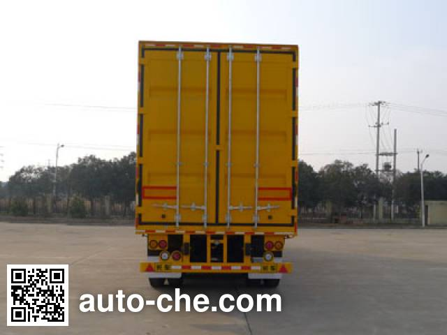 Hailunzhe XHZ9320XDY power supply trailer