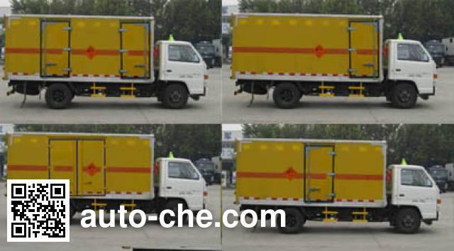 Frestech XKC5060XQY4J explosives transport truck