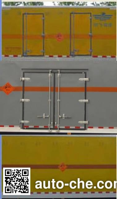 Frestech XKC5120XQY4B explosives transport truck