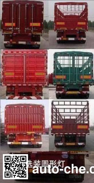 Yuntai XLC9402CLX stake trailer