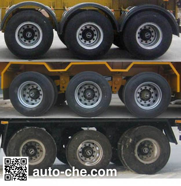 Yuntai XLC9402GFL low-density bulk powder transport trailer