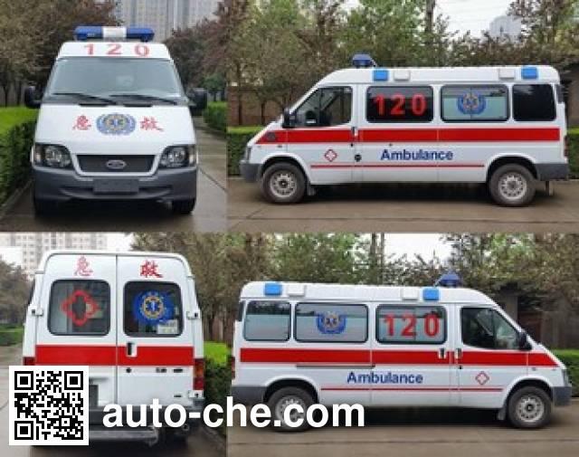 蓝港牌XLG5030XJH5救护车