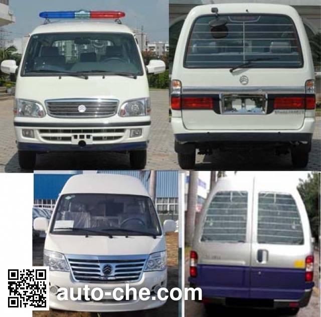 Golden Dragon XML5035XQC65 prisoner transport vehicle