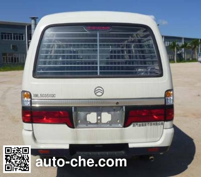 Golden Dragon XML5035XQCA8 prisoner transport vehicle