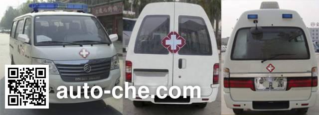 Golden Dragon XML5036XJH18 ambulance