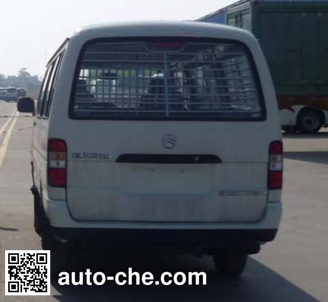 Golden Dragon XML5036XQC15 prisoner transport vehicle