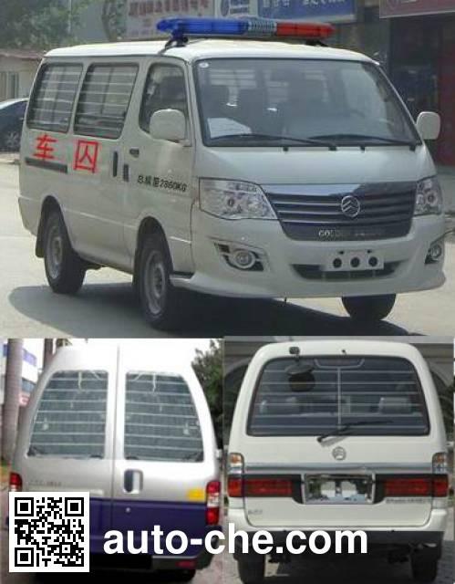Golden Dragon XML5036XQC18 prisoner transport vehicle