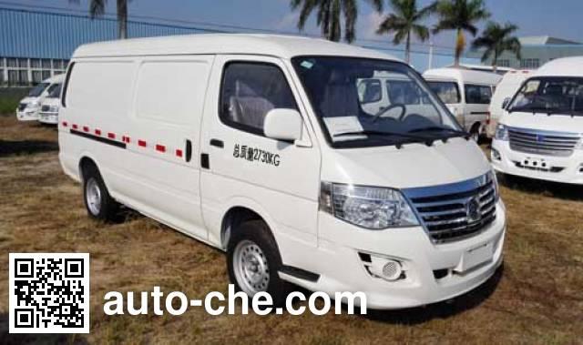金旅牌XML5036XXY18N厢式运输车