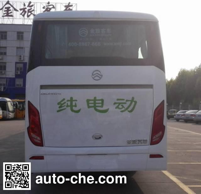 金旅牌XML6102JEV50纯电动客车