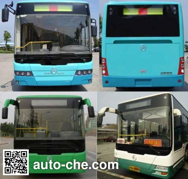 Golden Dragon XML6105JEVE0C electric city bus