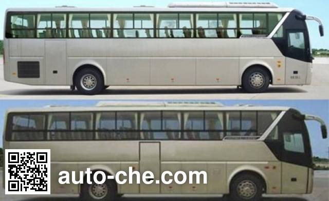 Golden Dragon XML6122JHEVA8C hybrid city bus