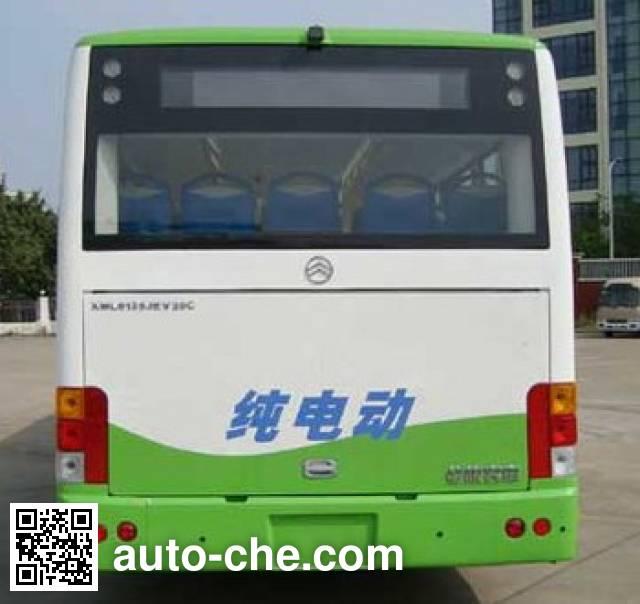Golden Dragon XML6125JEVM0C electric city bus