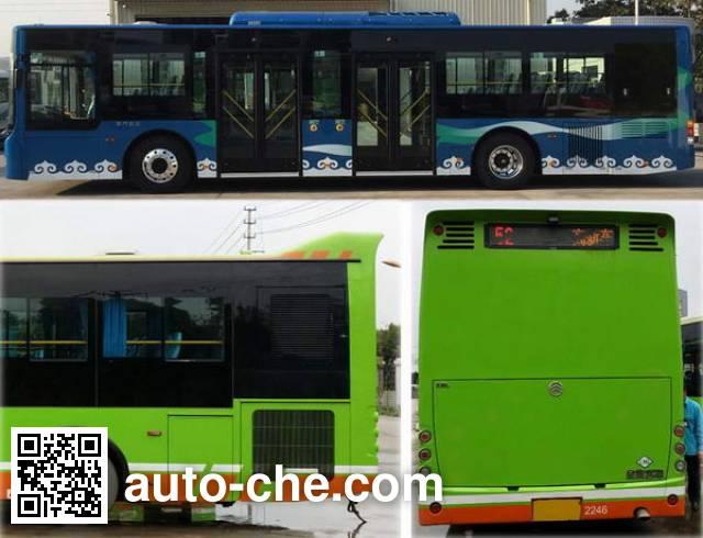Golden Dragon XML6125JHEVG5CN1 hybrid city bus