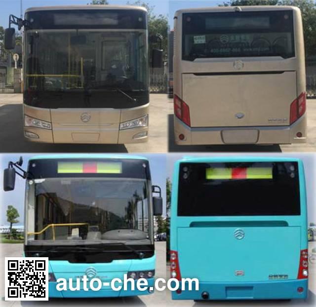 金旅牌XML6105JHEVG5CN1混合动力城市客车