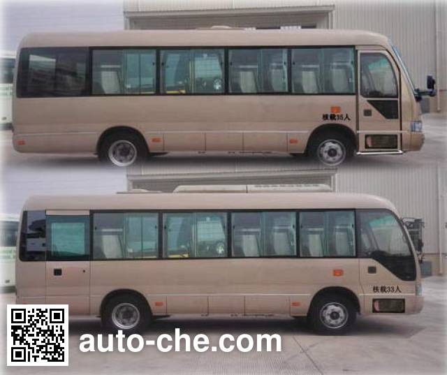 Golden Dragon XML6809JEV60 electric bus