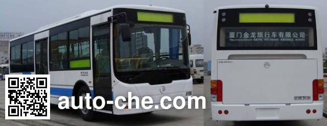 Golden Dragon XML6855JEV80C electric city bus