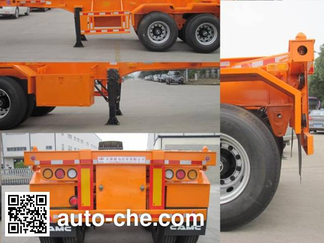 CAMC XMP9351TJZ container transport trailer