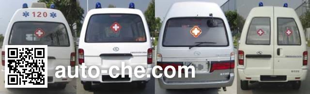 King Long XMQ5030XJH34 ambulance