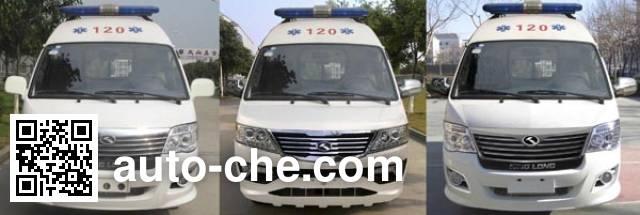 金龙牌XMQ5034XJH65救护车