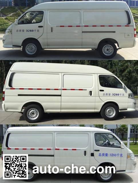 King Long XMQ5030XXYBEVS02 electric cargo van