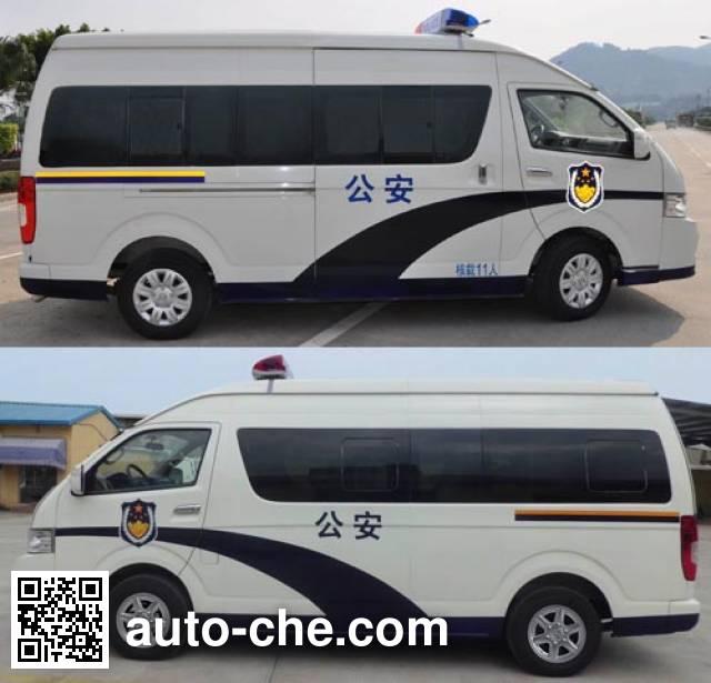 King Long XMQ5032XQC25 prisoner transport vehicle