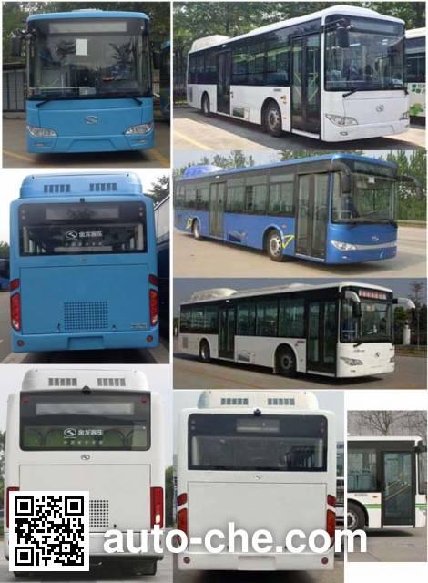 King Long XMQ6106AGBEVL1 electric city bus