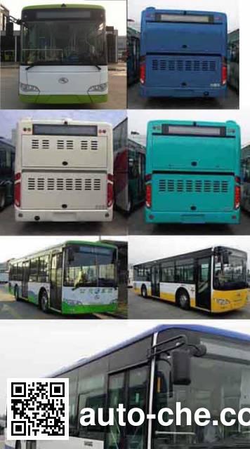 金龙牌XMQ6106AGCHEVD54混合动力城市客车