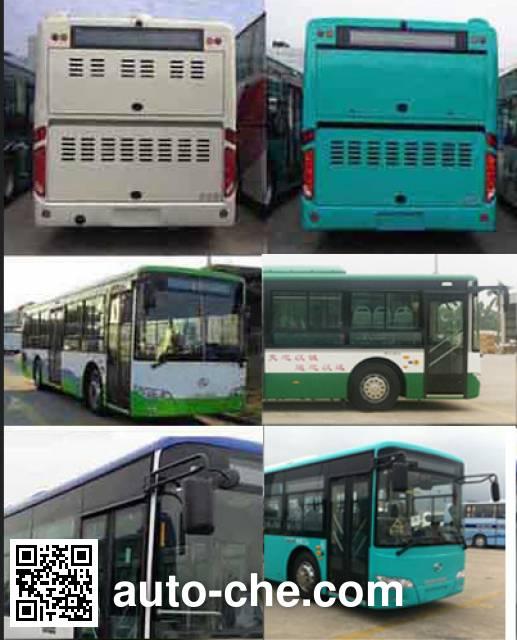 King Long XMQ6106AGCHEVD56 hybrid city bus