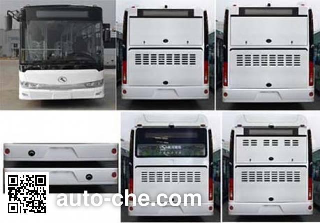金龙牌XMQ6106AGCHEVD51混合动力城市客车