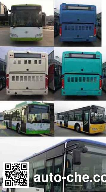 金龙牌XMQ6106AGCHEVN56混合动力城市客车
